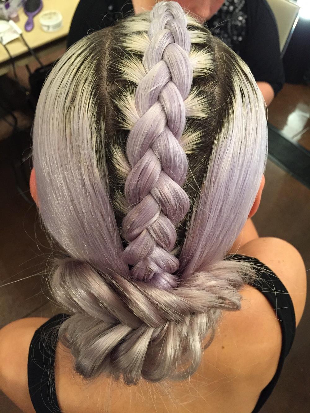 summer braid fishtail plait