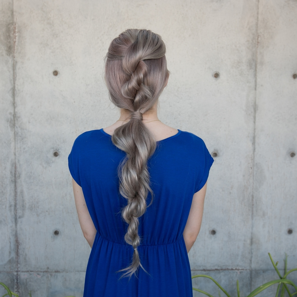 Easy Rope Braid Hair Tutorial Confessions Of A Hairstylist