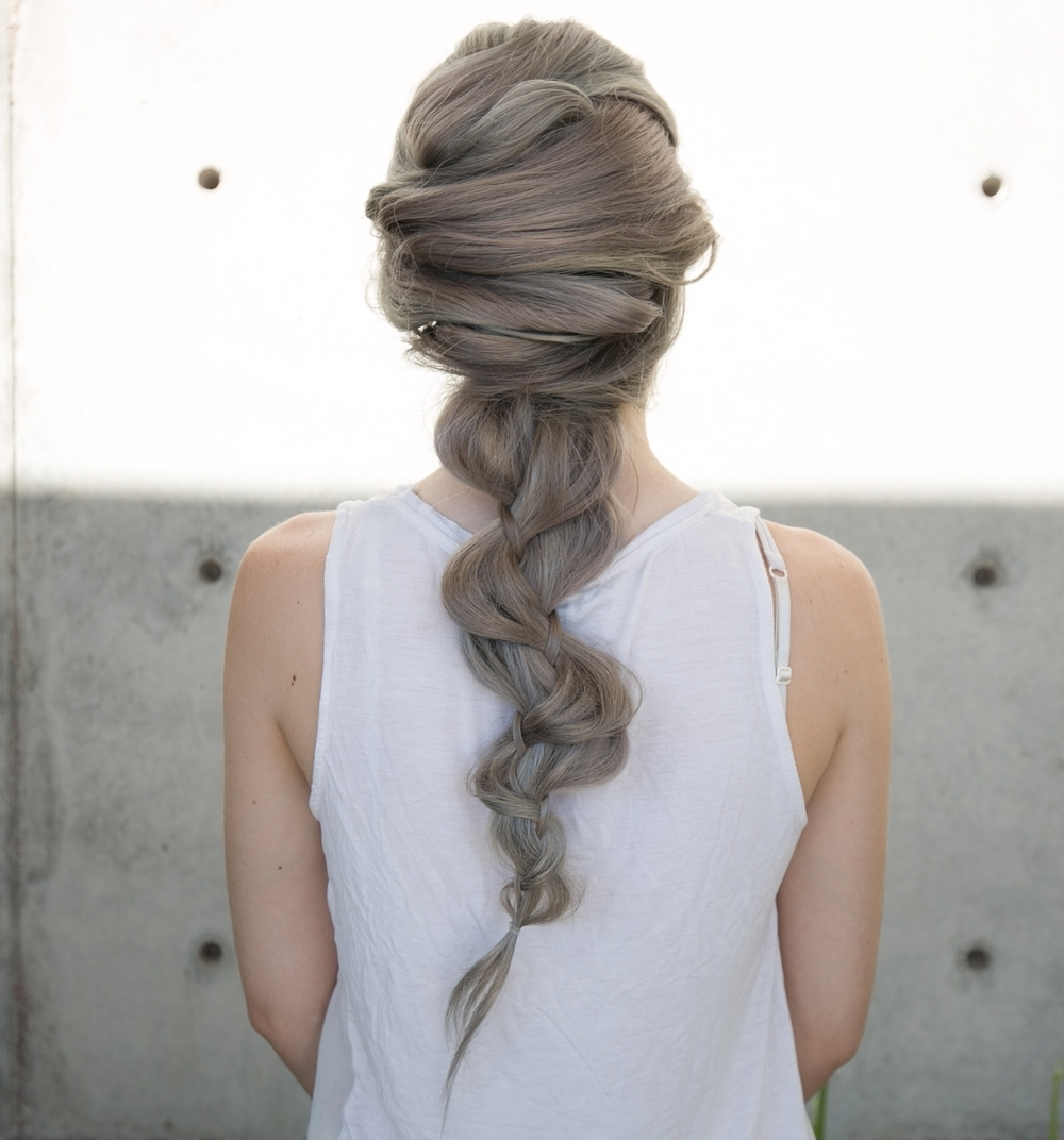 Criss Cross into Braid Mermaid Hairstyle — Confessions of a Hairstylist