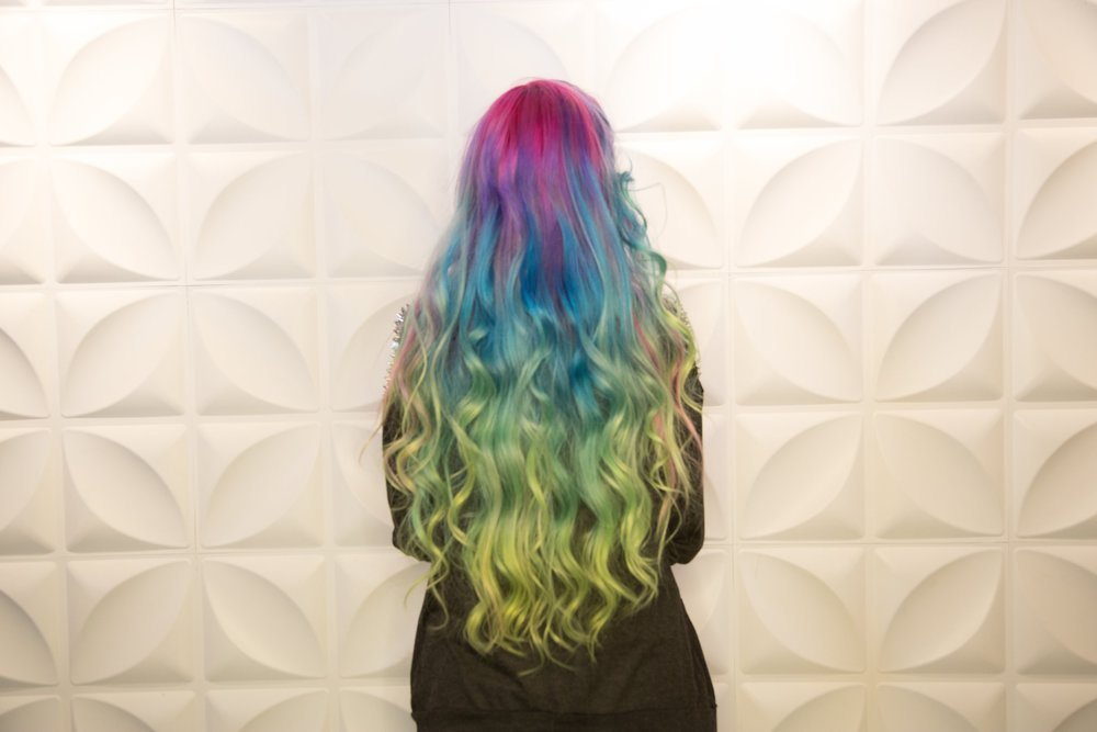 Vivid Color Melt By Hair God Zito Confessions Of A Hairstylist