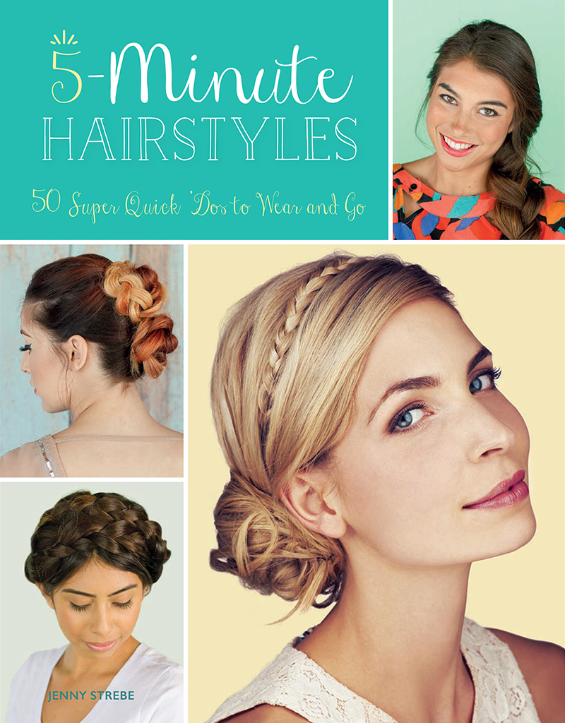 5 minute Hairstyles Tutorial Book — Confessions of a Hairstylist