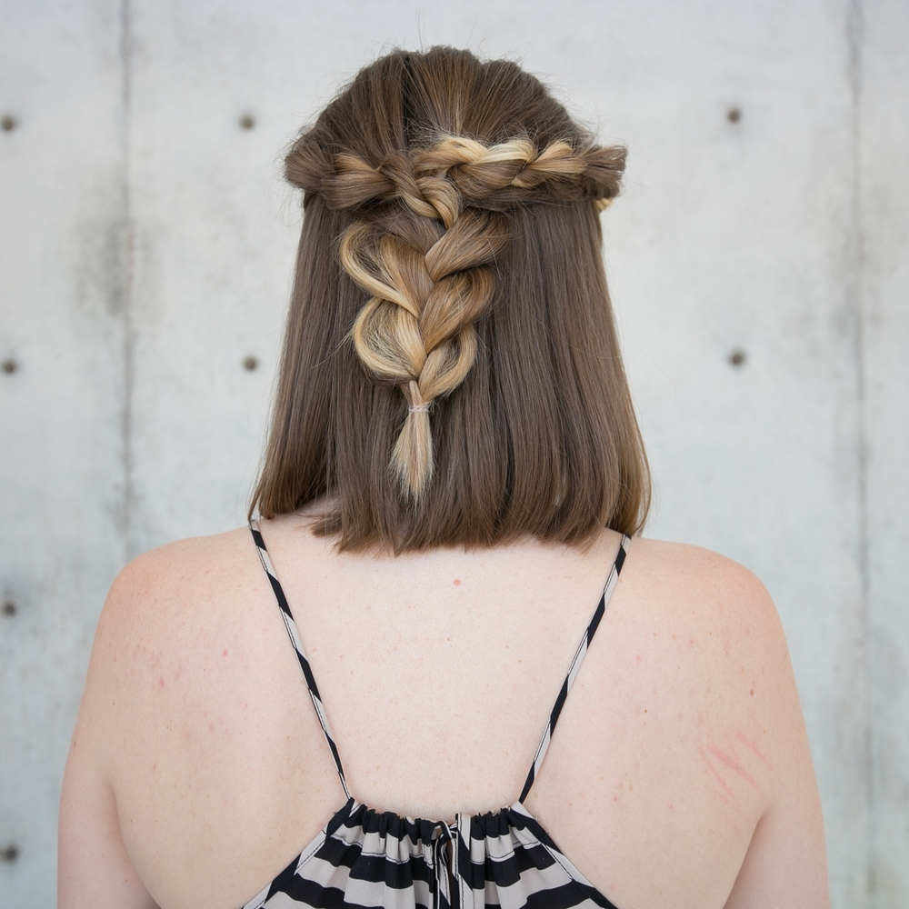 Mid Length Rope Braid Hairstyle Confessions Of A Hairstylist