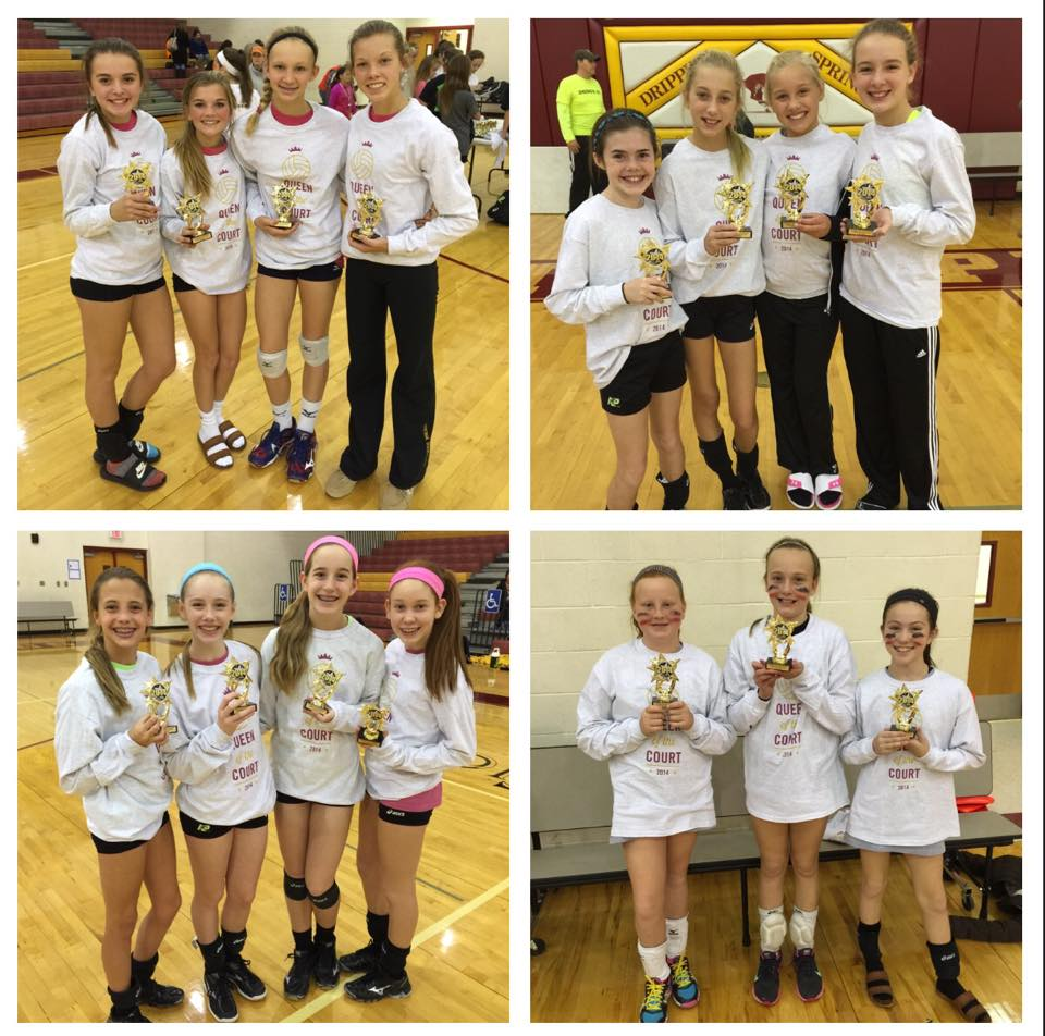 "DSYSA / DS Kids Fun Foundation ""Queen of the Court"" Annual Volleyball Fundraiser, 1st Place Teams"