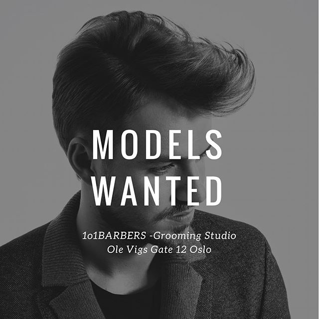 Would you like to get a total look and professional photo shooting for FREE? Next 20.03.18 we are organizing a shooting and we are in need of 3 models willing on participate. Location: @1o1barbersnorge  Ole Vigs Gate 12 Oslo We just look for good hair in all lengths to be able to give you the best bespoke look. 📬Please DM me asap. #lordjackknife #model #fashion #hair #oslo #trend #haircut #menshair #menstyle #mensfashion #mensgrooming #1o1barbers