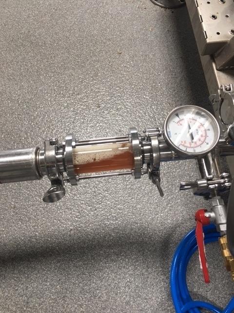 Idag bryggdes den första ölen i nya bryggeriet, en ny öl som kommer att presenteras inom kort...