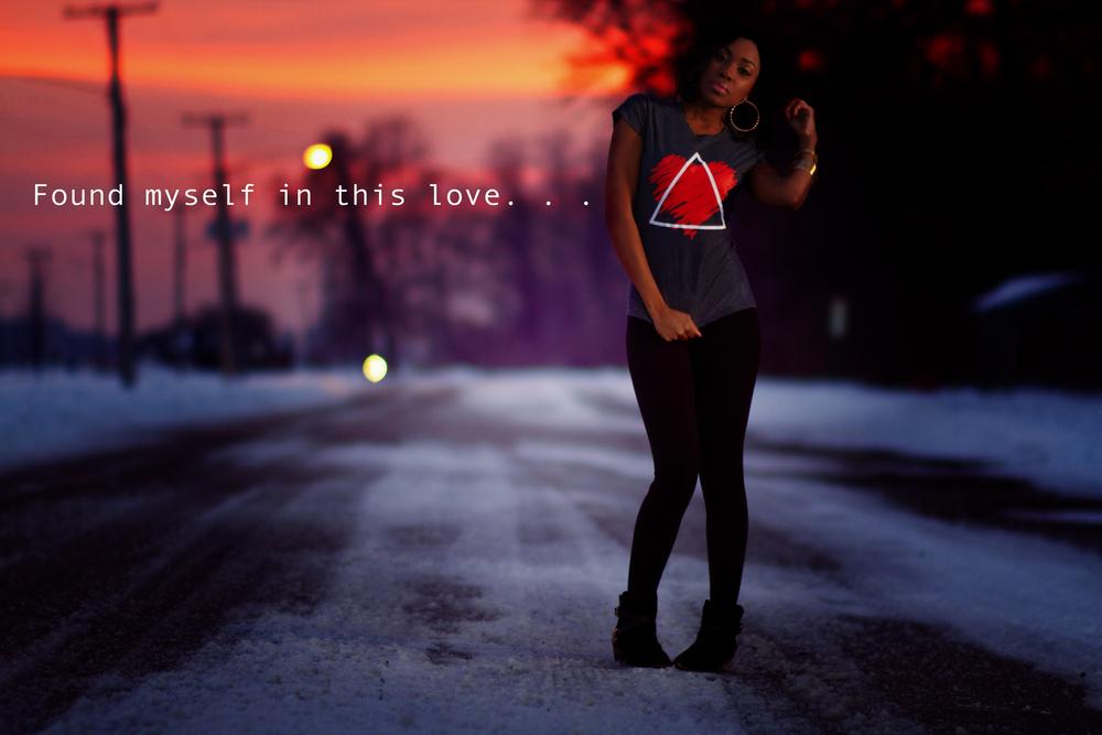 Women's Love Triangle Tee