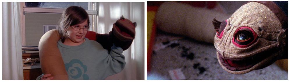 Plush Worm Puppet