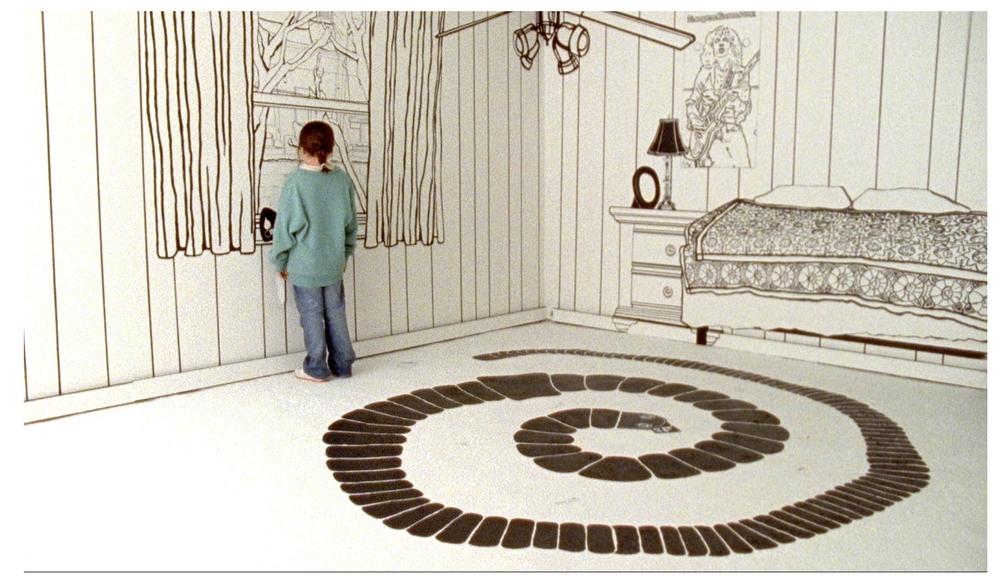 2D Painted Bedroom Set