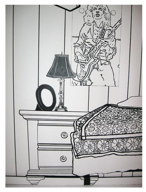 2D Bedroom Detail