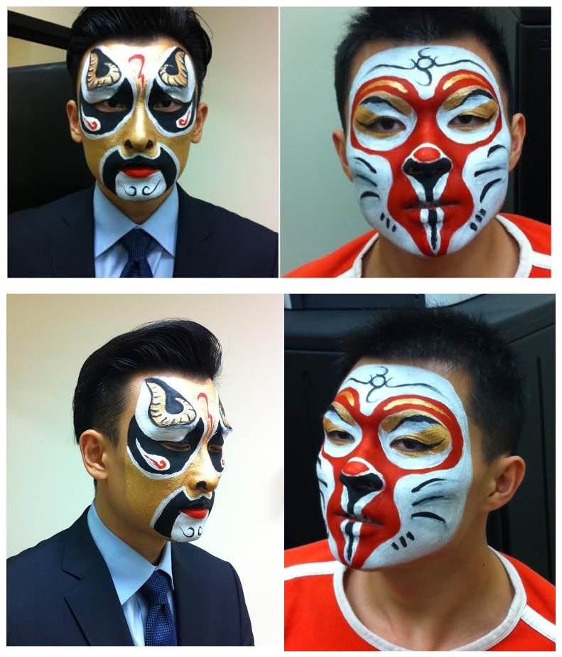Beijing Opera Make Up