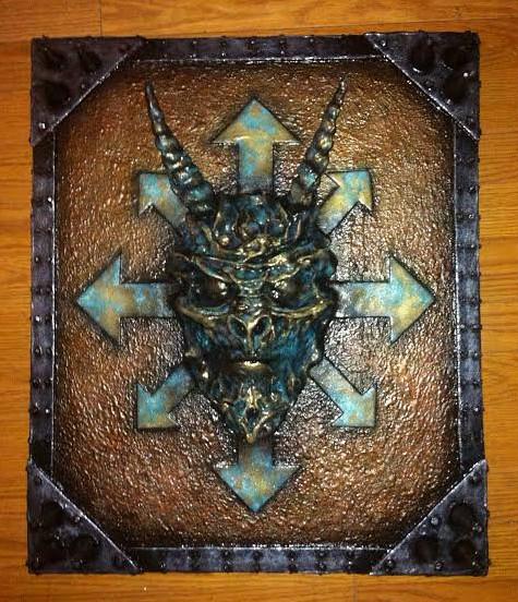 Bronze Oderus Plaque