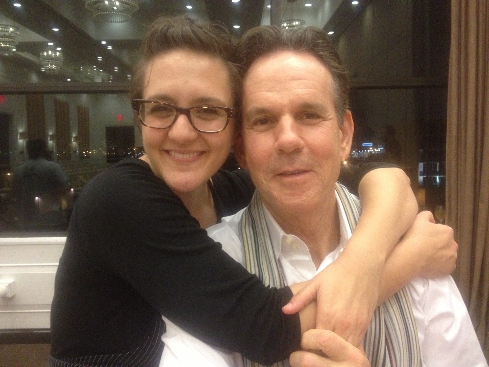 And, just in case you missed it the first time, me and Thomas Keller. Please note how he is holding my hand. Like we're bff's.