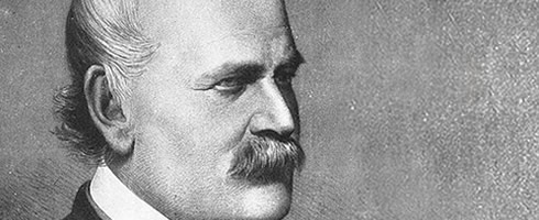 Dr. Semmelweis, father of hand hygiene
