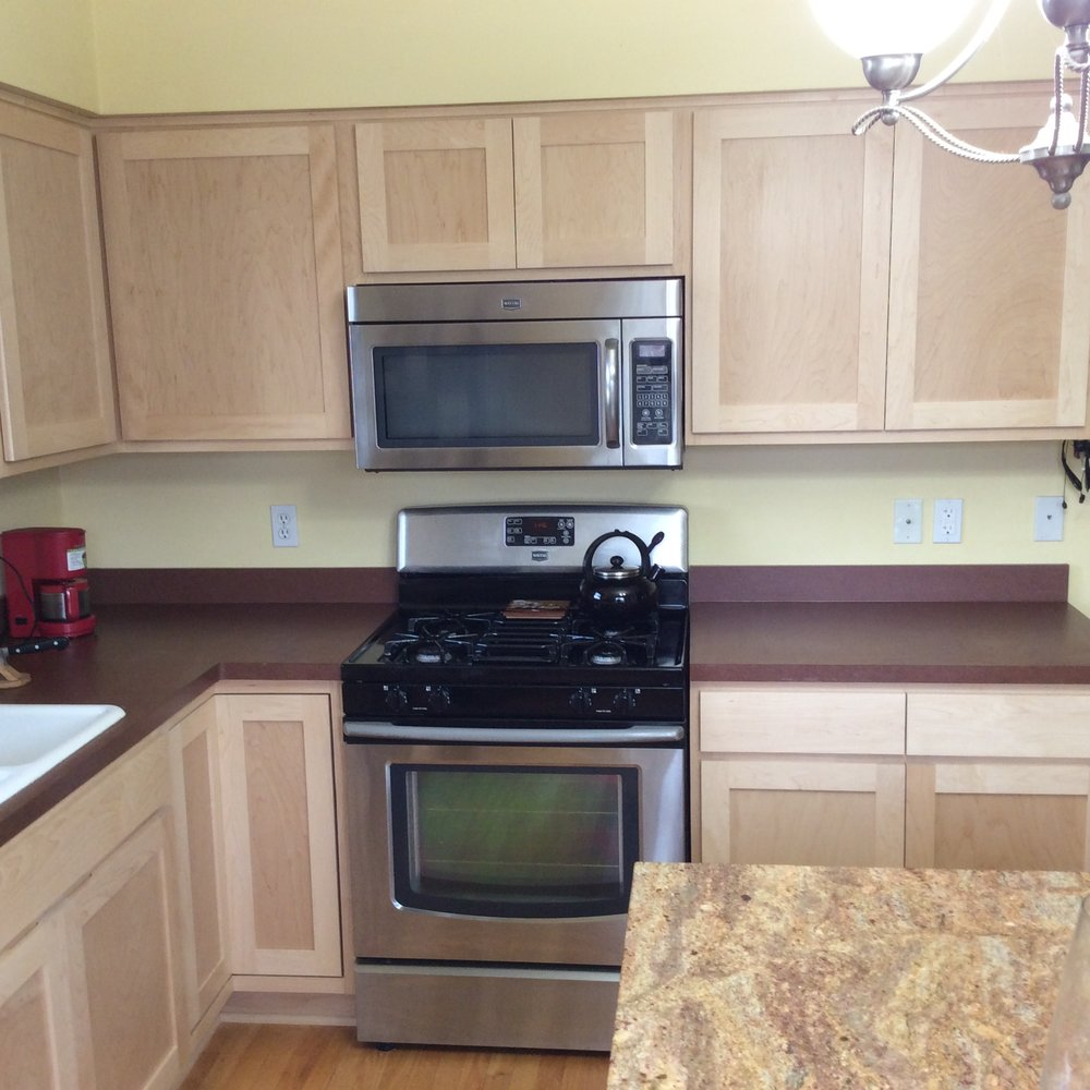 refinishing kitchen company cabinet remodeling reliant phoenix refacing