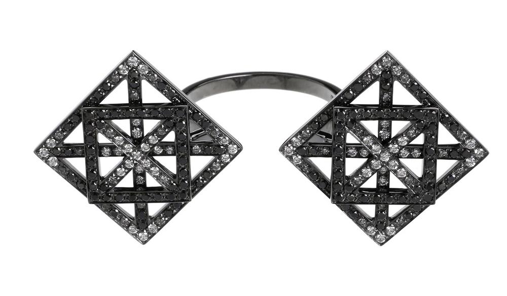 Inel din aur cu diamante, Dauphin, colette.fr, 7.000 euro