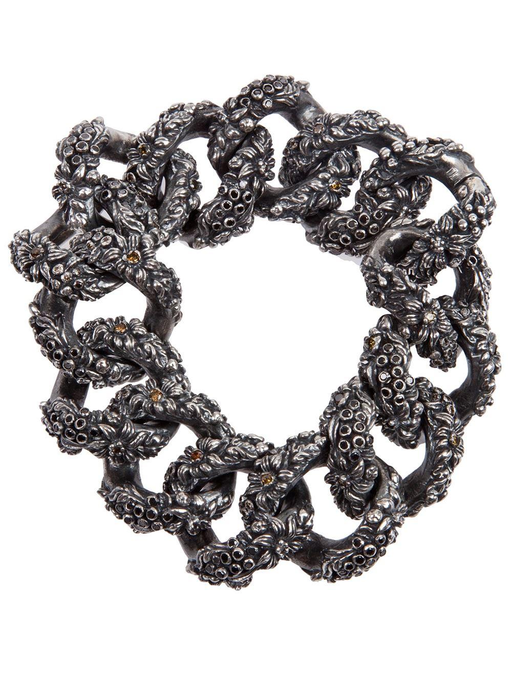 Bratara din argint cu diamante, Ugo Cacciatori, shop.leclaireur.com, 6.500 euro