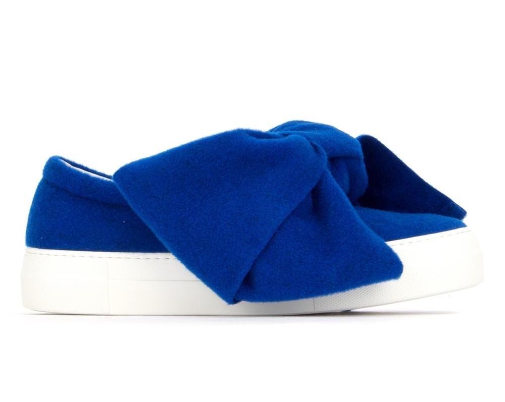 Sneakers din stofa si piele, Joshua Sanders, joshua-sanders.com, 285 euro