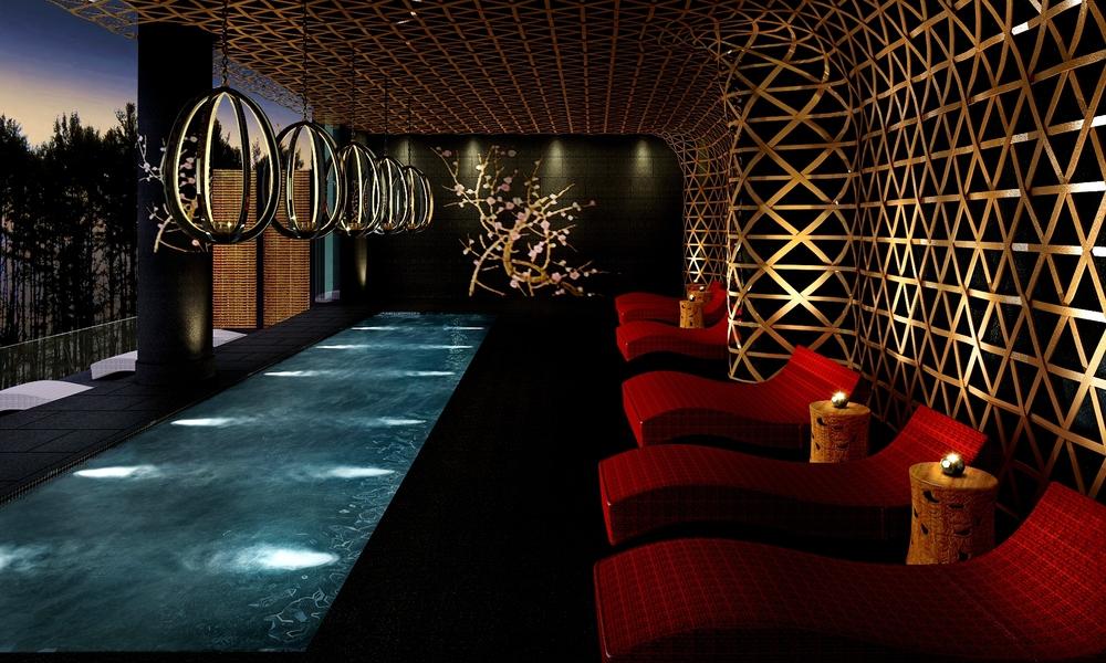 Shiseido SPA, Stejarii Country Club