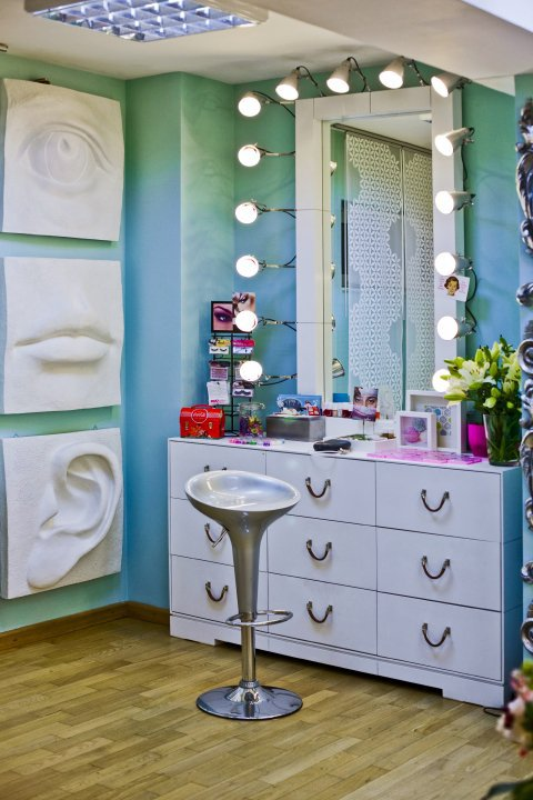 Beauty District Powder Room