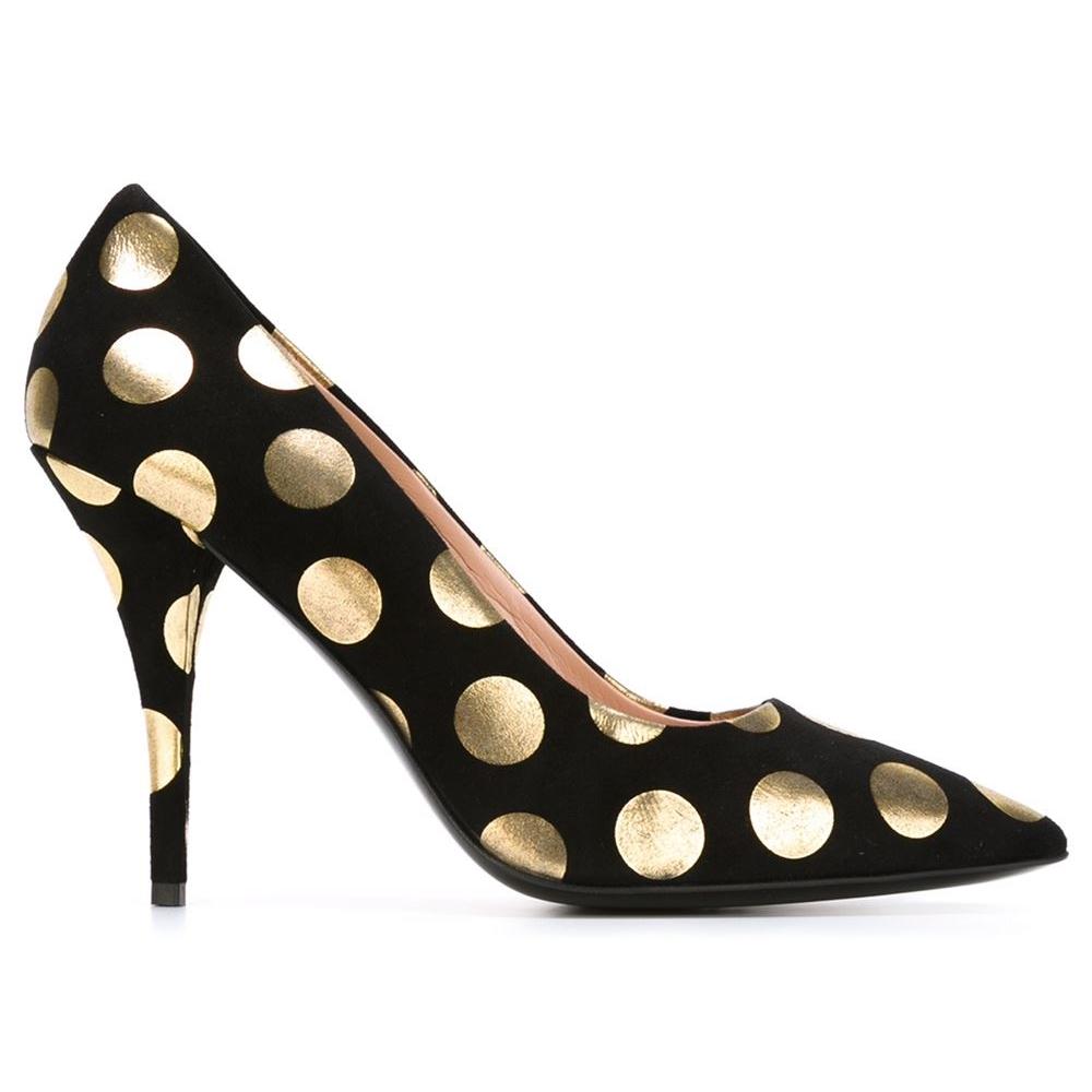 Pantofi din piele velur, Moschino Boutique, farfetch.com, 182 euro