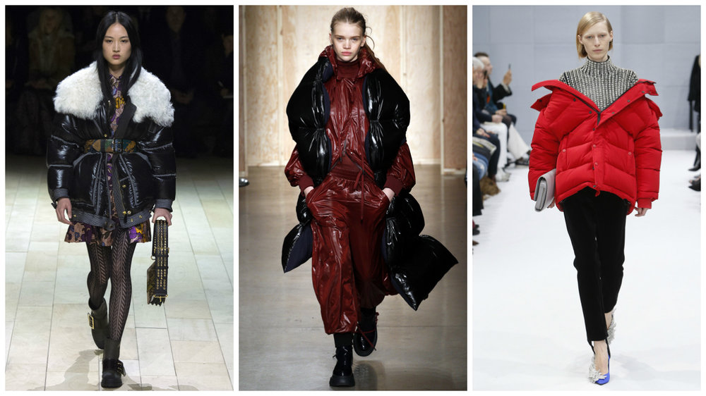 Burberry, DKNY, Balenciaga.
