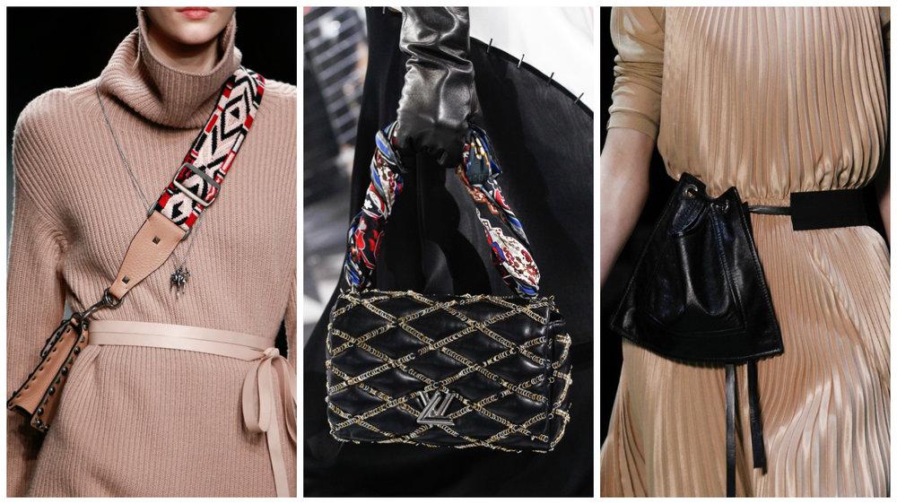 Valentino, Louis Vuitton, Celine.