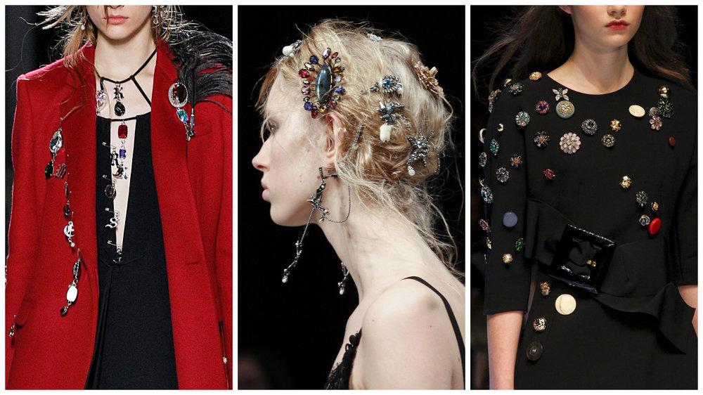 Christopher Kane, Alexander McQueen, Dolce&Gabbana.