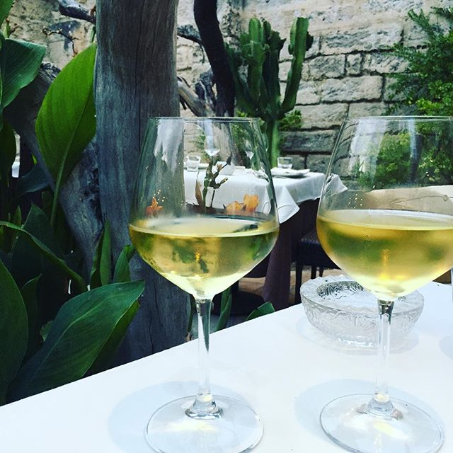 Cheers to the secret gardens of Lecce 🥂#lecce #puglialife