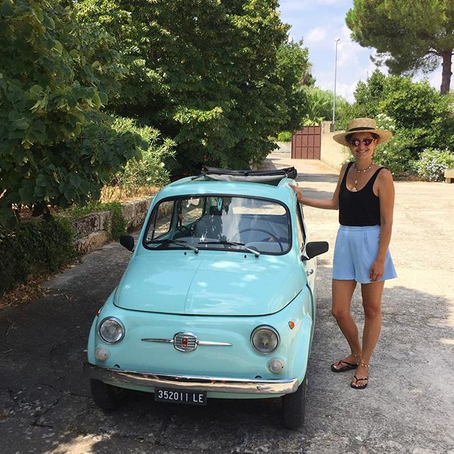 Puglia days 😎 #fiat500 #mylove #palazzodeibaroni