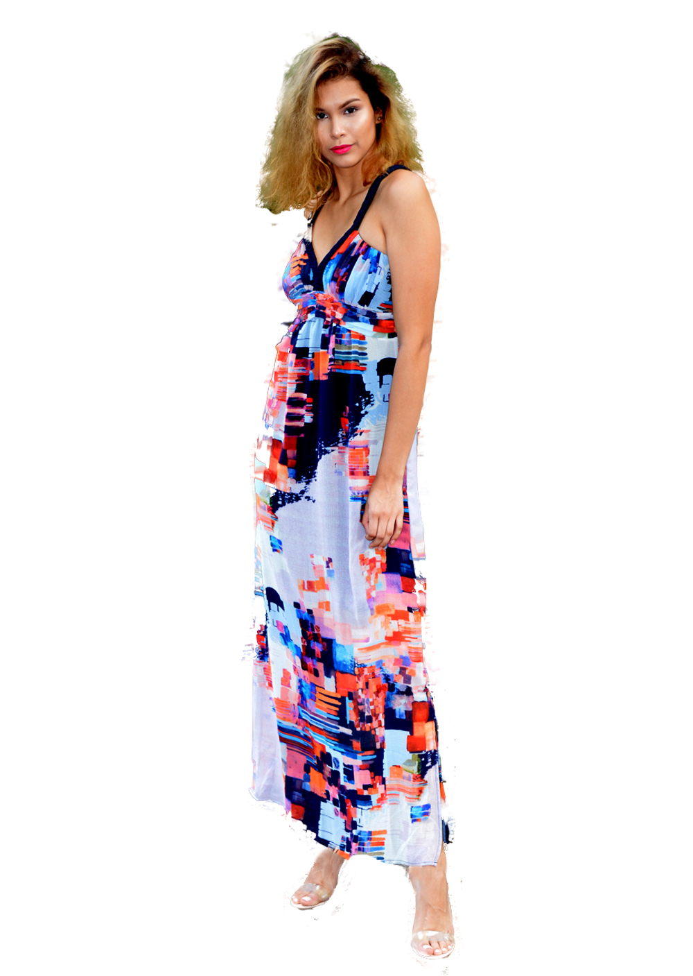 Summer Dress Abstract Design - Shop on ShopifyShop on Amazon