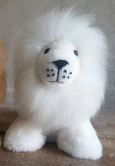 Alpaca Stuffed Animals: Lion White or Brown - Shop on Shopify