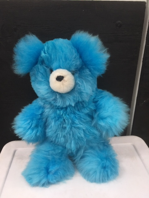 ALPACA STUFFED ANIMALS- BLUE TEDDY - Shop on EbayShop on Shopify