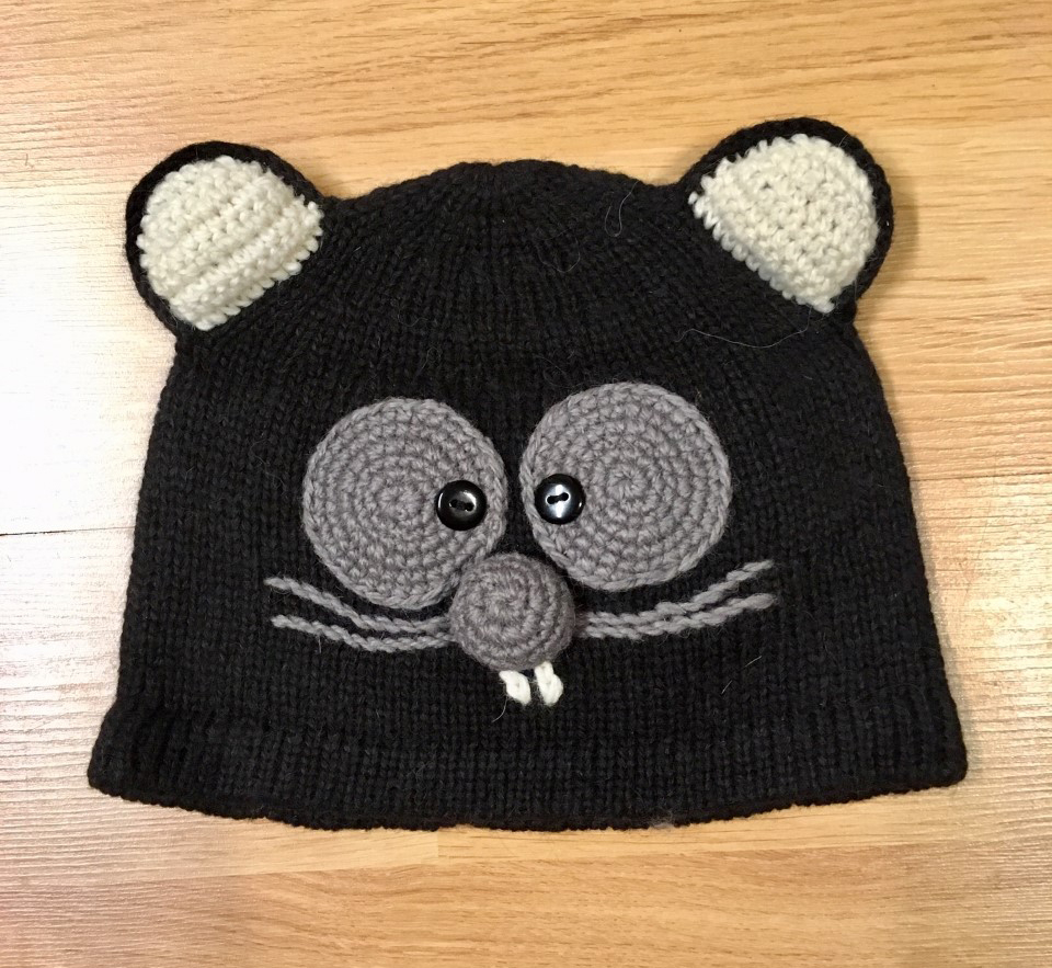 Hand Knitted Premium Alpaca Kid's Hat- Cat - Shop on Ebay