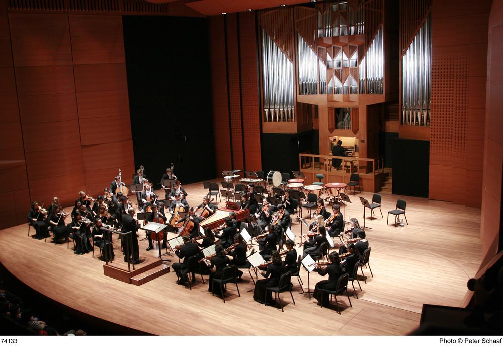 Händel Organ Concerto with the Juilliard Orchestra