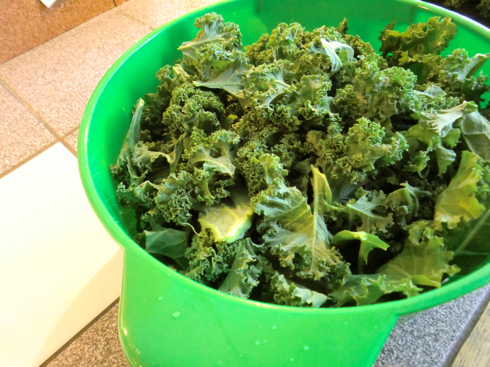 How to get bitterness out of kale