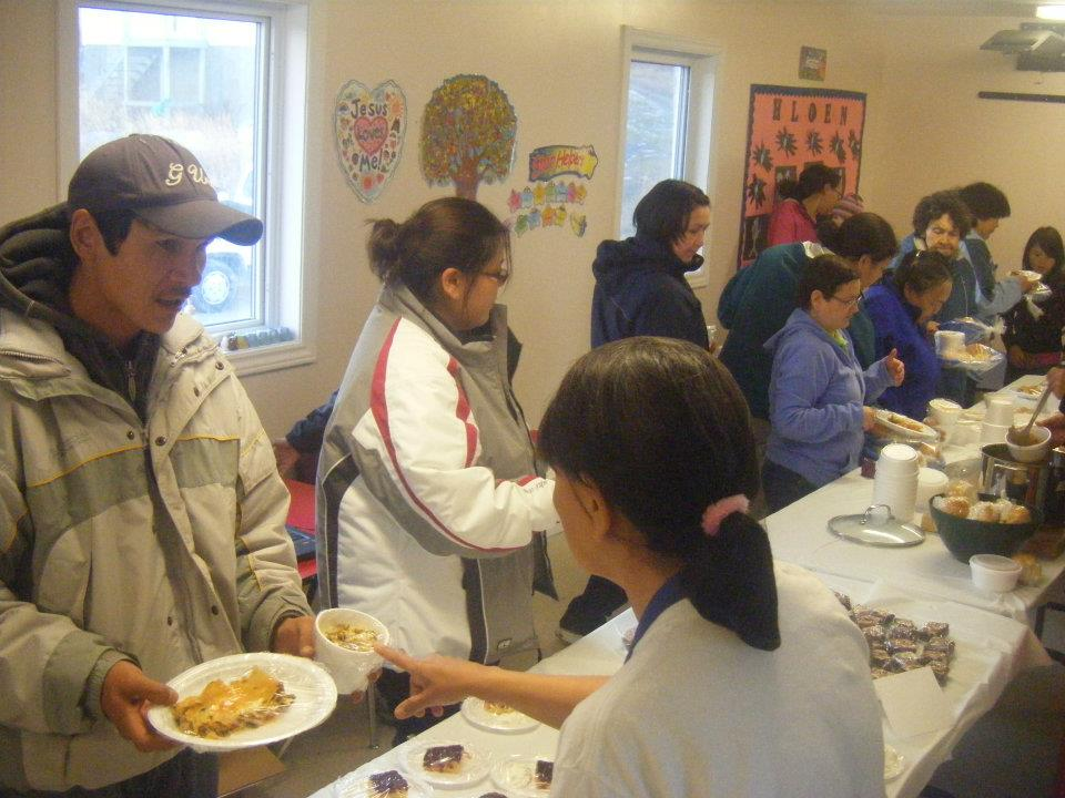 World Food Day 2011 fundraiser in Hopedale