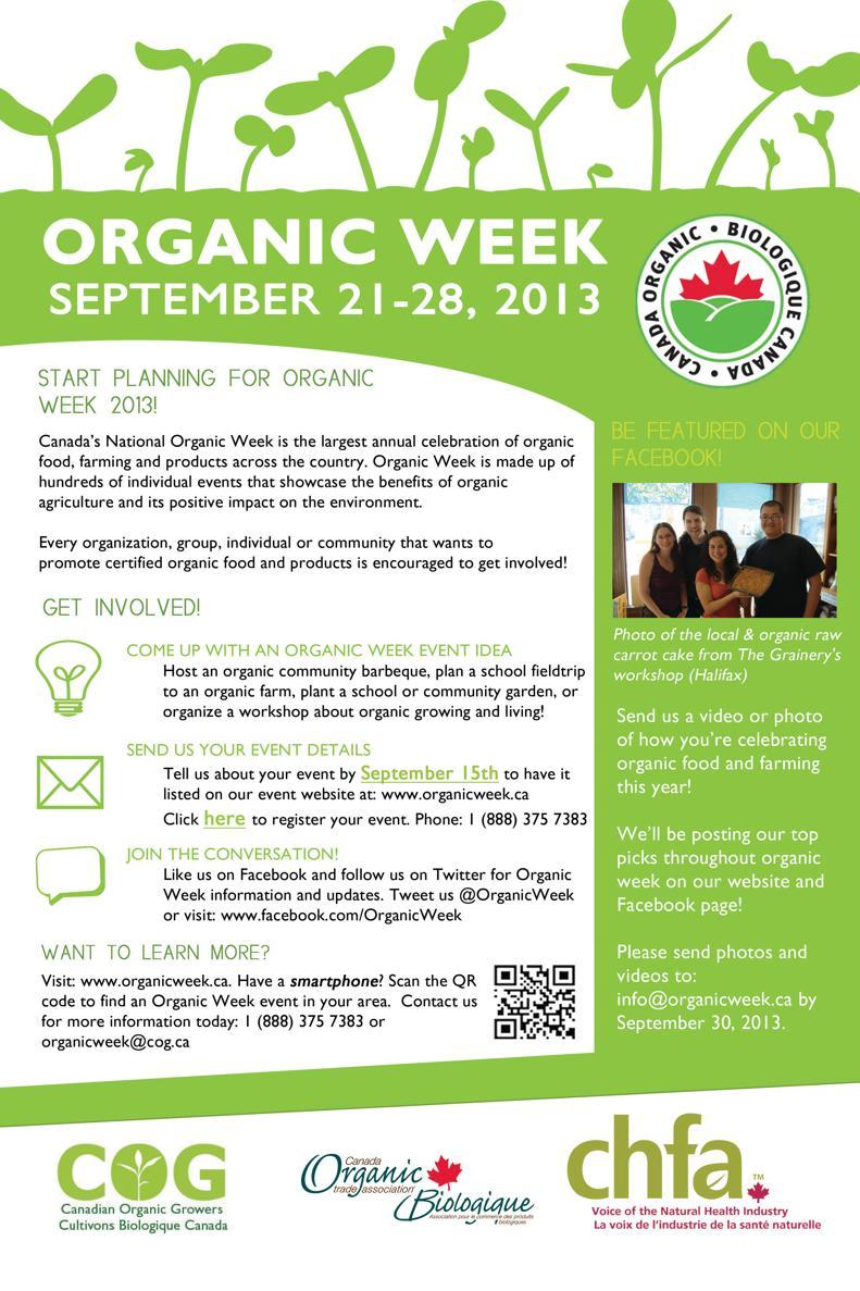 Organic Week 2013