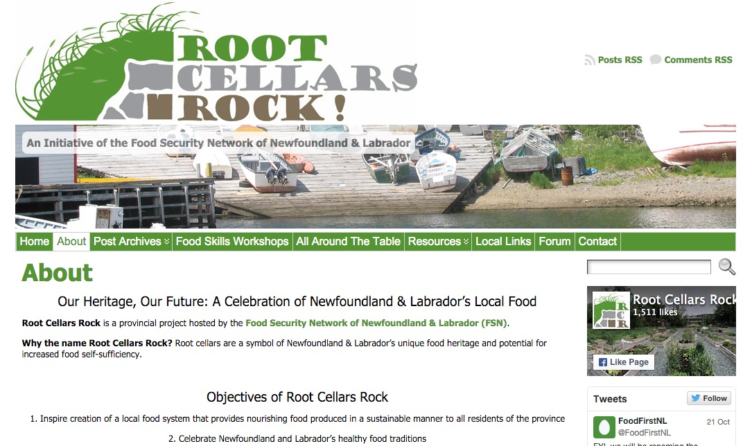 Root Cellars Rock Archive