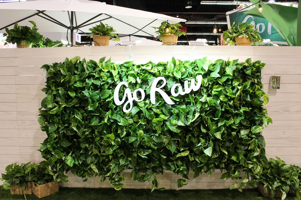 Pothos Vertical Garden for Go Raw by Amanda Goldberg Planted Design
