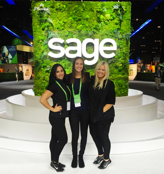 Sage Summit 2016 Rental Living Wall