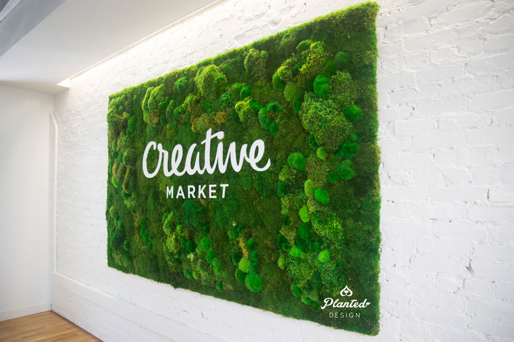 Creative Market  - Moss Wall