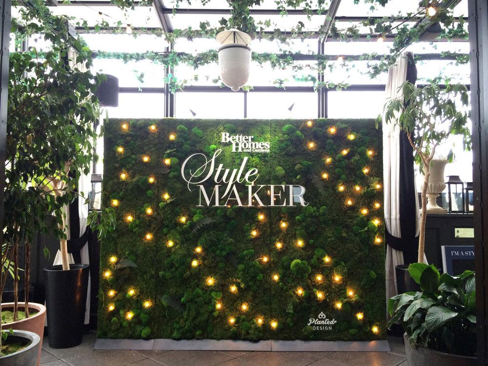 Better Homes and Gardens  - Rental Moss Wall