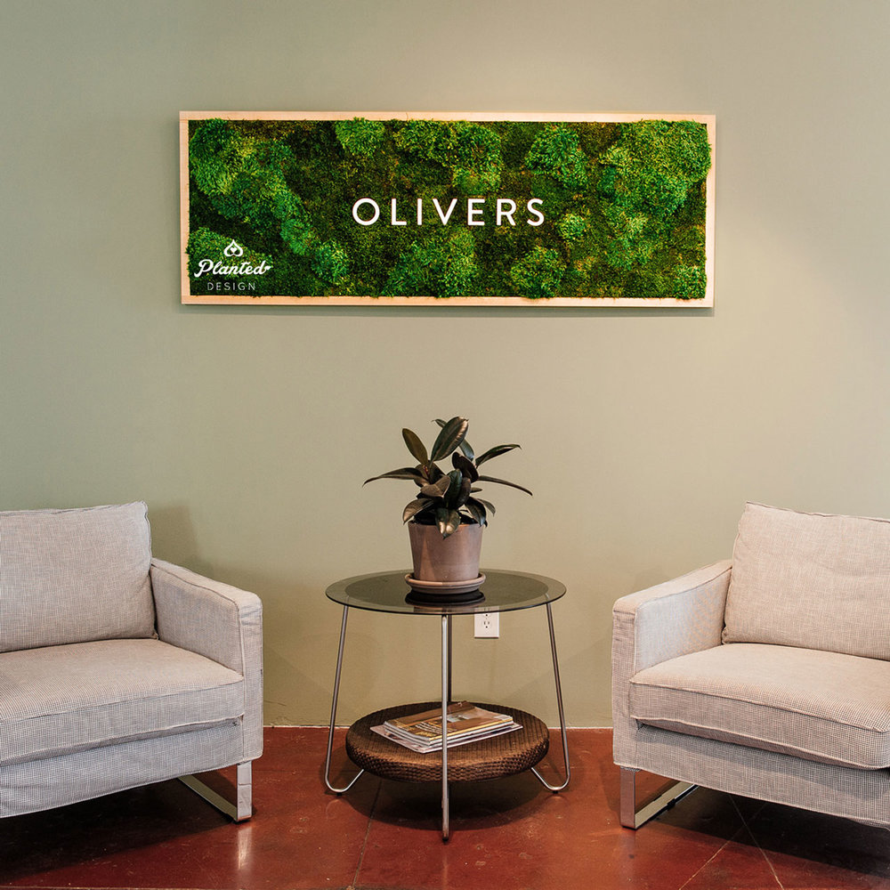 Olivers - Moss Wall