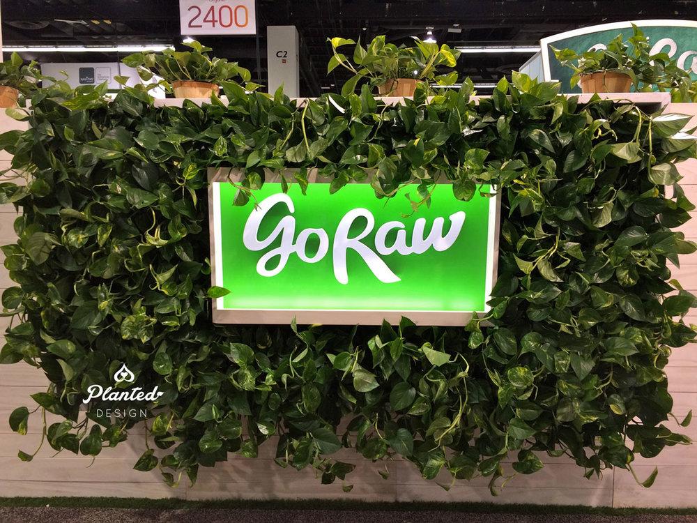 Go Raw - Living Wall