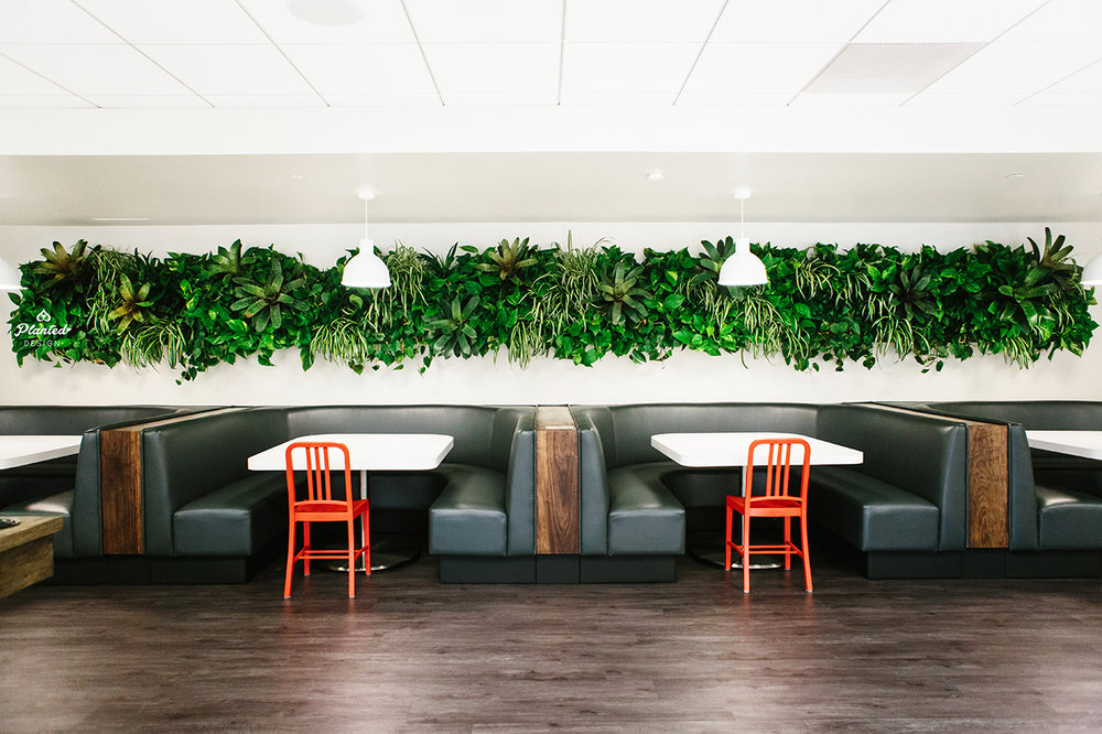 Open Table - Living Wall