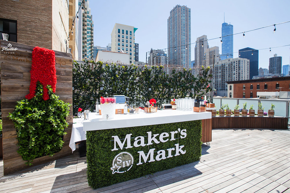 Maker's Mark - Living & Moss Wall