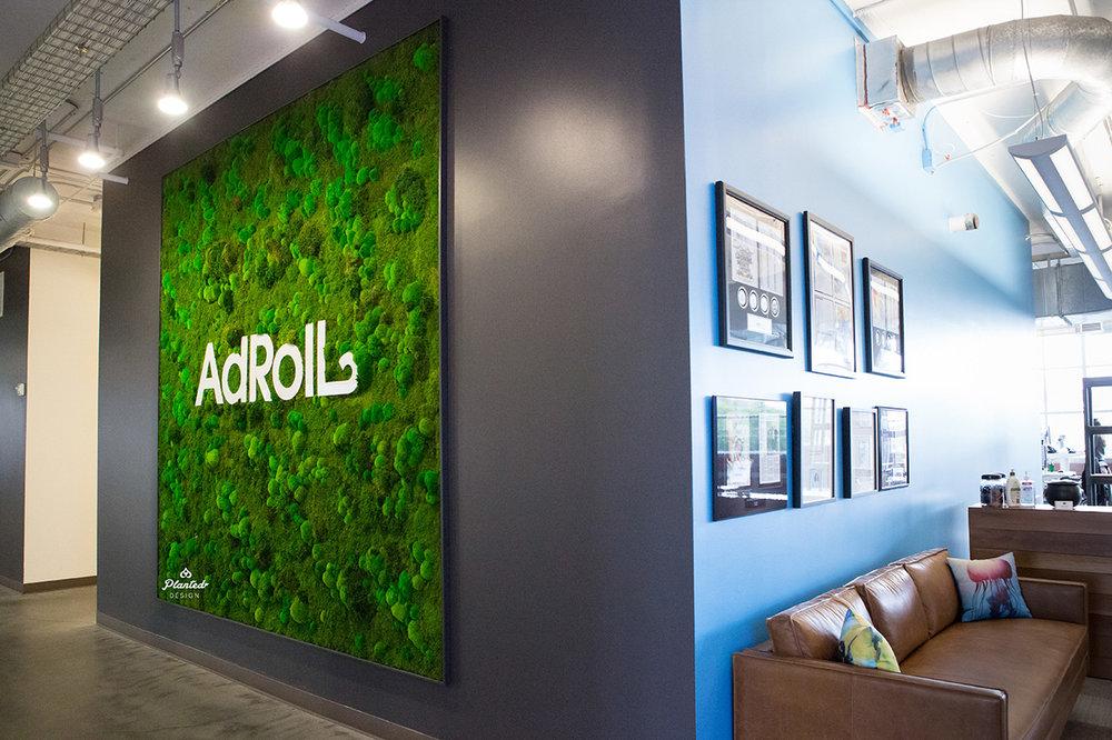 AdRoll - Moss Wall