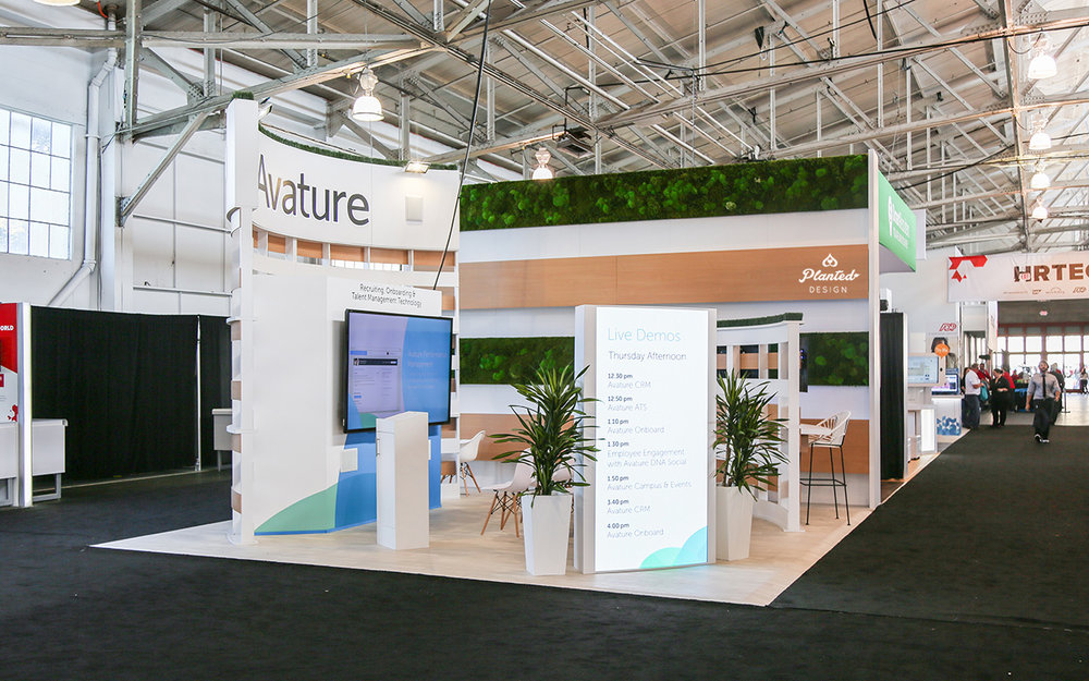 Avature  - Trade Show Wall