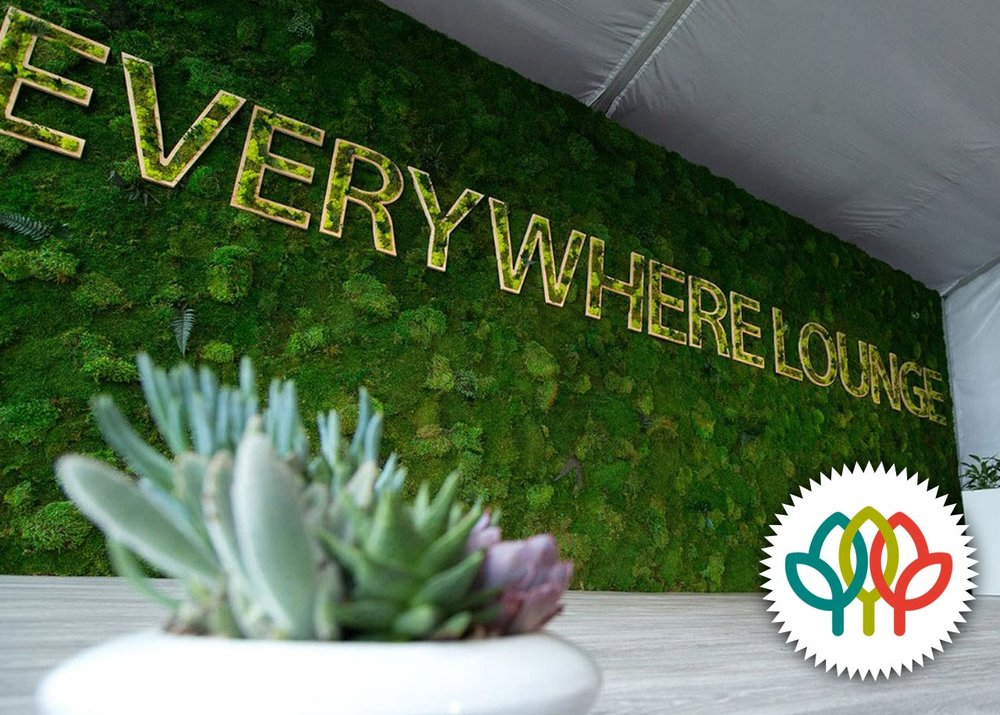 Visa Everywhere Superbowl  - Rental Wall American Hort Award Winner