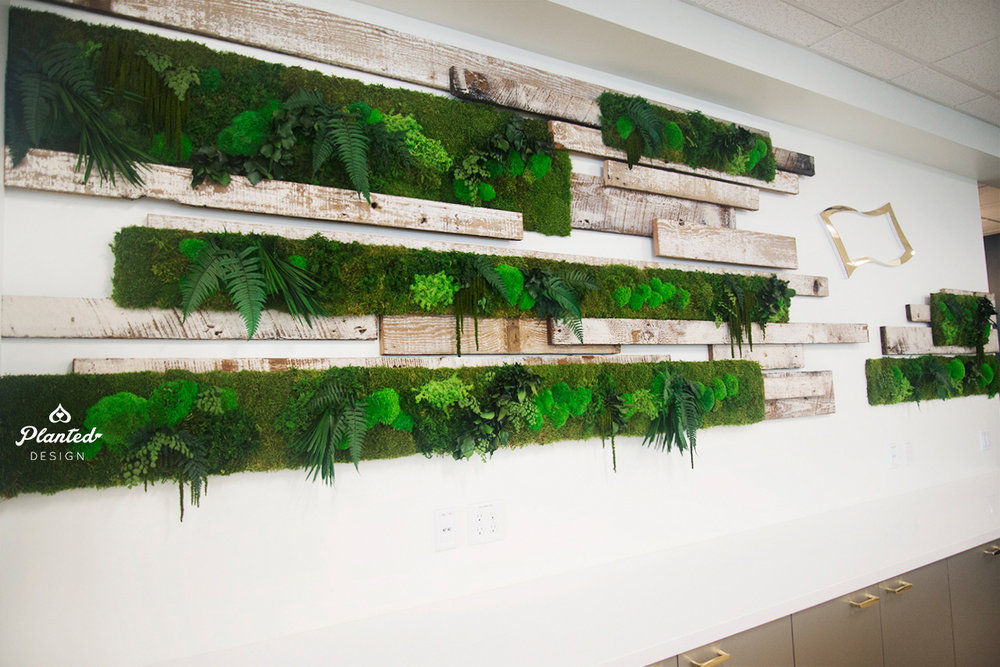 Neodyne  - Open Office Moss Wall